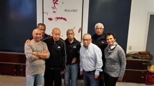 Medewerkers Mae Uku die 65 jaar geleden mee voer met de Roma,_Goya,_Asturias,_Atlantis,_N_Australia_en_Fairsea[1]