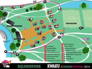 Kwaku plattegrond